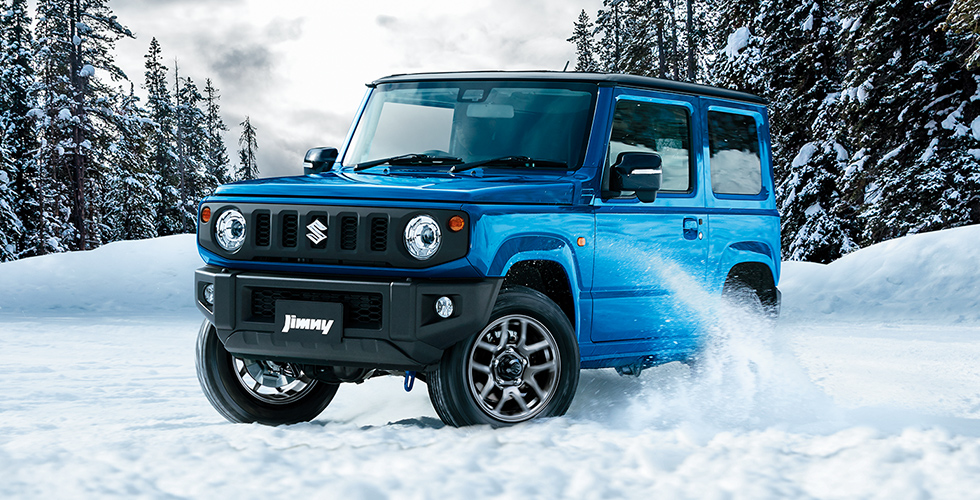 新型ジムニーでも雪道走行は滑るって本当?雪道走行のコツ伝授します!