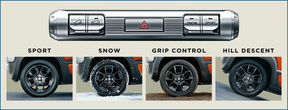 クロスビー 4WDと2WDの違いはどこ?雪道での走破性は?