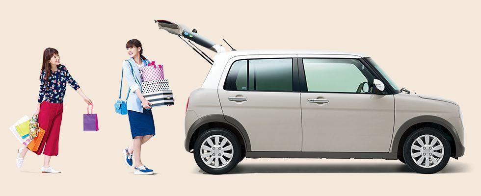 新型ラパンは4人乗り?ファミリーカーとしての購入はあり?