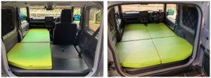 新型ジムニーシエラで車中泊キャンプはできる?車中泊に必要なおすすめ便利グッズも紹介
