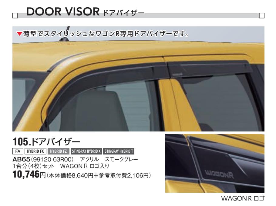 新型ワゴンRスティングレーのディーラーオプションの種類は豊富?おすすめはナビ?
