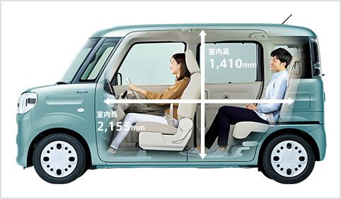 新型スペーシアカスタムの長距離ドライブは快適?長時間、高速道路を運転していても疲れない?