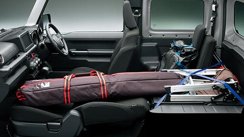 新型ジムニー車外・車内・荷室・タイヤのサイズは?