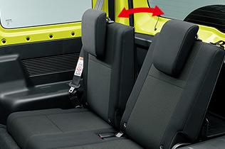 新型ジムニーの乗り心地は快適?後部座席は大人の男性でも足を伸ばせる?