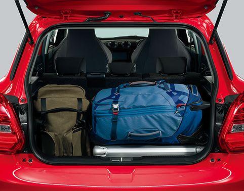 新型スイフトスポーツ車外・車内・荷室(トランク)・タイヤのサイズは?