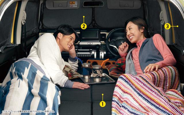 新型クロスビーで車中泊キャンプはできる?車中泊に必要なおすすめ便利グッズも紹介