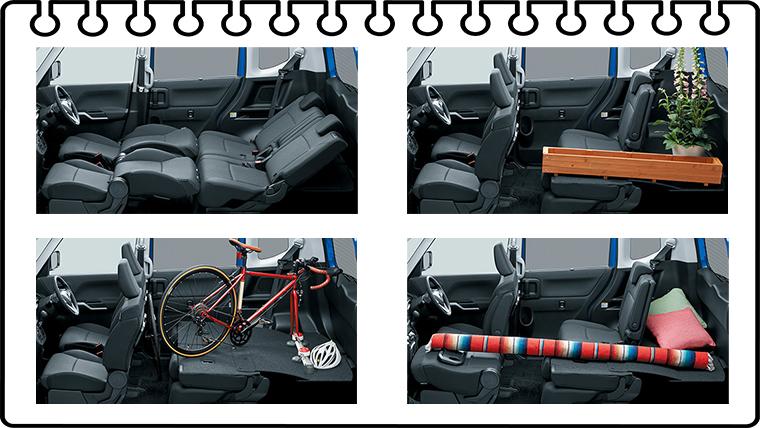ソリオ車外・車内・荷室(トランク)・タイヤのサイズは?
