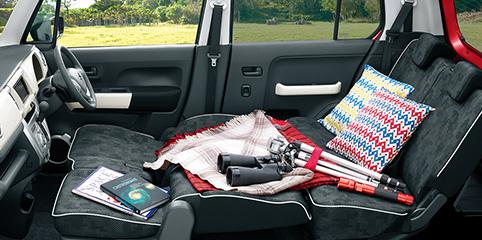 ハスラーの車中泊は二人がおすすめ?旅行で使える便利グッズも紹介