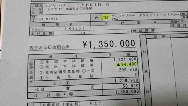 乗り出し135万円!新型ハスラーはセーフティサポート非装着車を買う!無くなる装備をリストアップ!