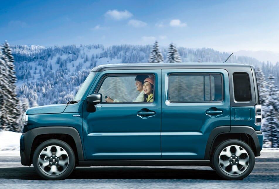 新型ハスラーで雪道を走る、4WDと2WDの違いは?雪道走破性は?車高の高さは効果あり?